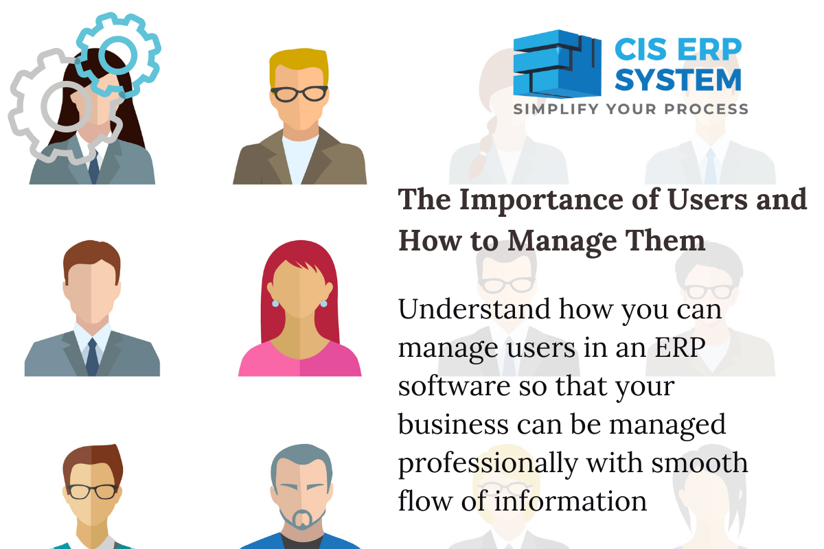 ERP Software – The Importance of Users and How to Manage Them